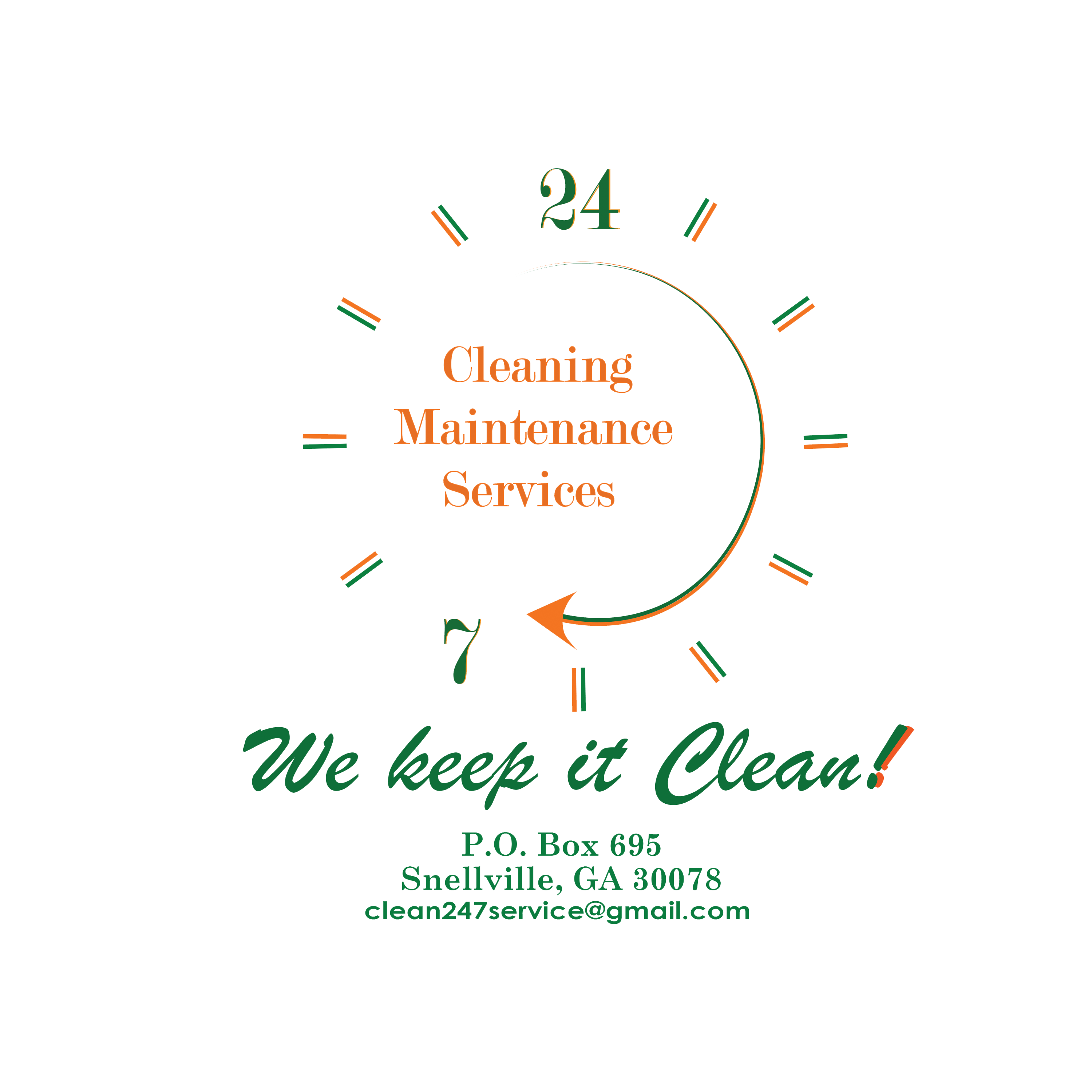 24/7 Cleaning Maintenance Services